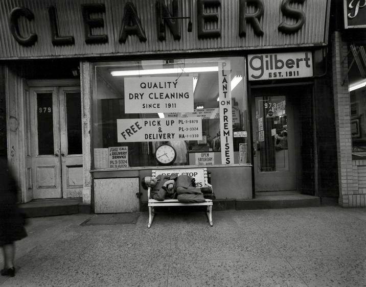 Bowery, New York, 1971