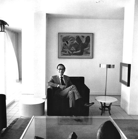I M Pei, architect, New York, 1970