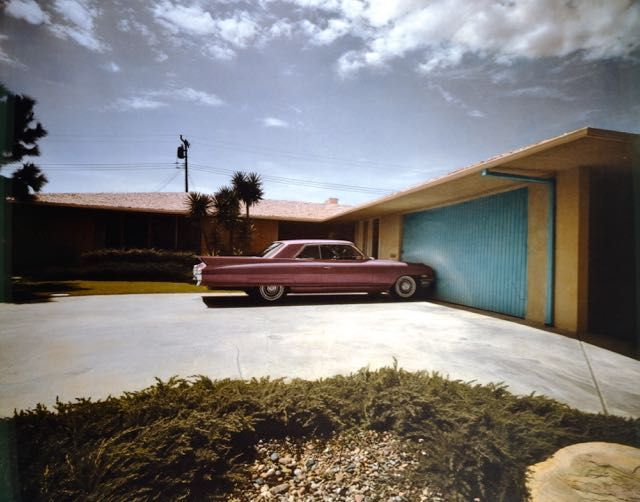 1962 Cadillac, Beverly Hills, CA, 1974-color chrome.jpg