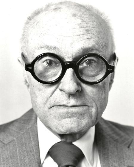 Philip Johnson, architect, New York, 1979