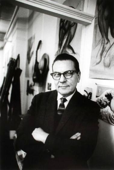 Burne Hogarth, artist, 1965