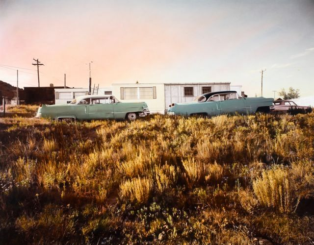 1955 Cadillacs, Cripple Creek, CO, 1974