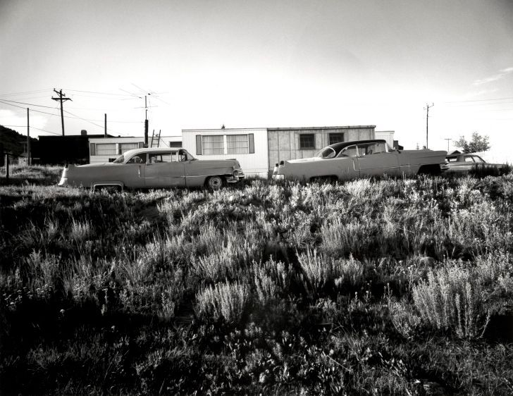 1955 Cadillacs, Cripple Creek, CO, 1974