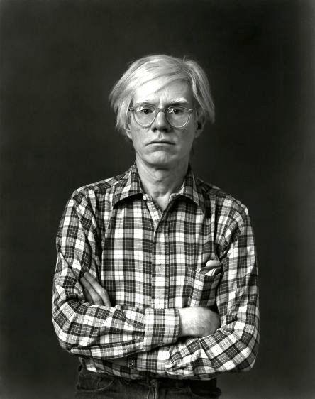 Andy Warhol, artist, New York, 1974