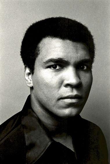 Muhammad Ali, New York, 1977
