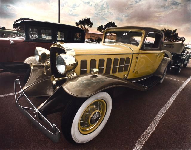 1932 Cadillac, Santa Monica, CA, 1977