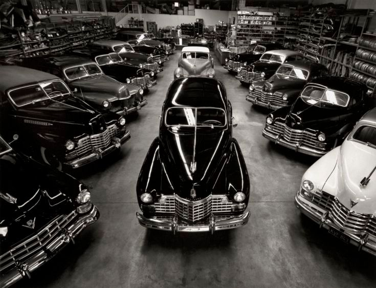 Cadillacs of the Forties, Sylmar, CA, 1985