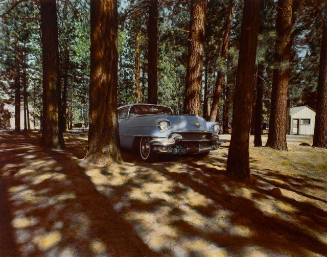 1956 Cadillac, Lake Tahoe, NV, 1974
