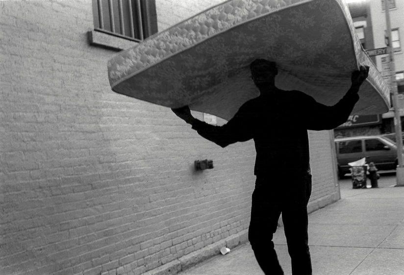 Bowery, New York, 1995