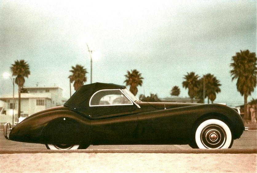XK-120 open two-seater (1948-1954)