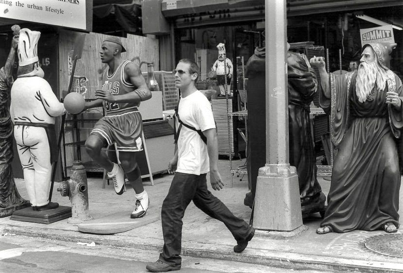 Bowery, New York, 2001