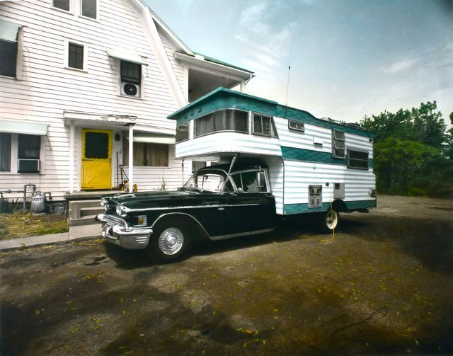 1958 Caddy Camper, Woodstock, NY, 1977