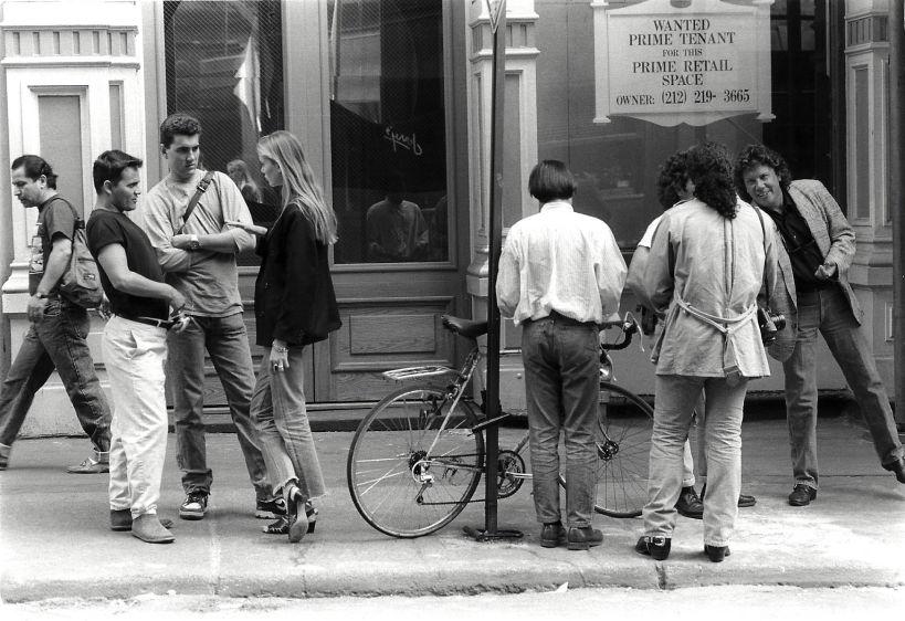 Prince Street, Soho, New York, 1990