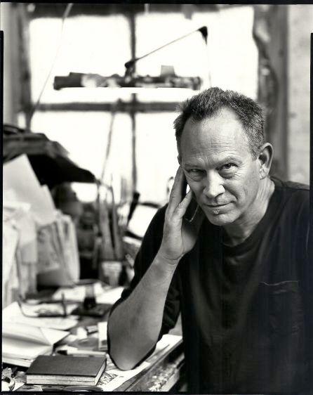 Gary Panter, cartoonist, New York, 2001