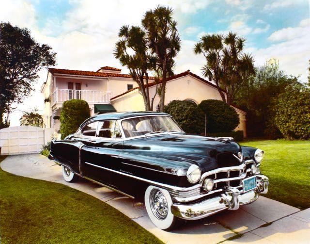 1950 Cadillac, Santa Monica, CA, 1985.jpg