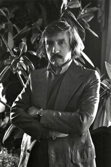 Edward Albee, playwright, New York, 1974