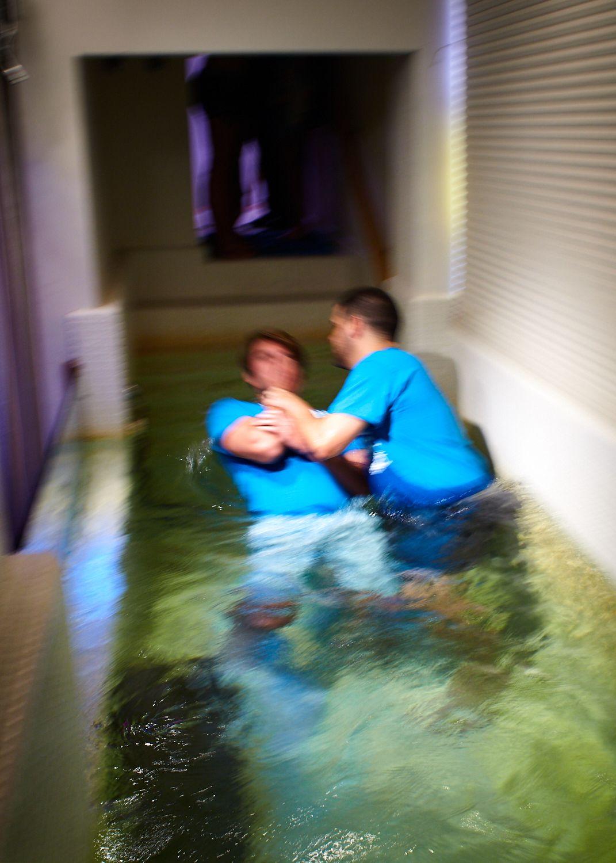 New Believer Baptism, First Baptist Church of Wildwood