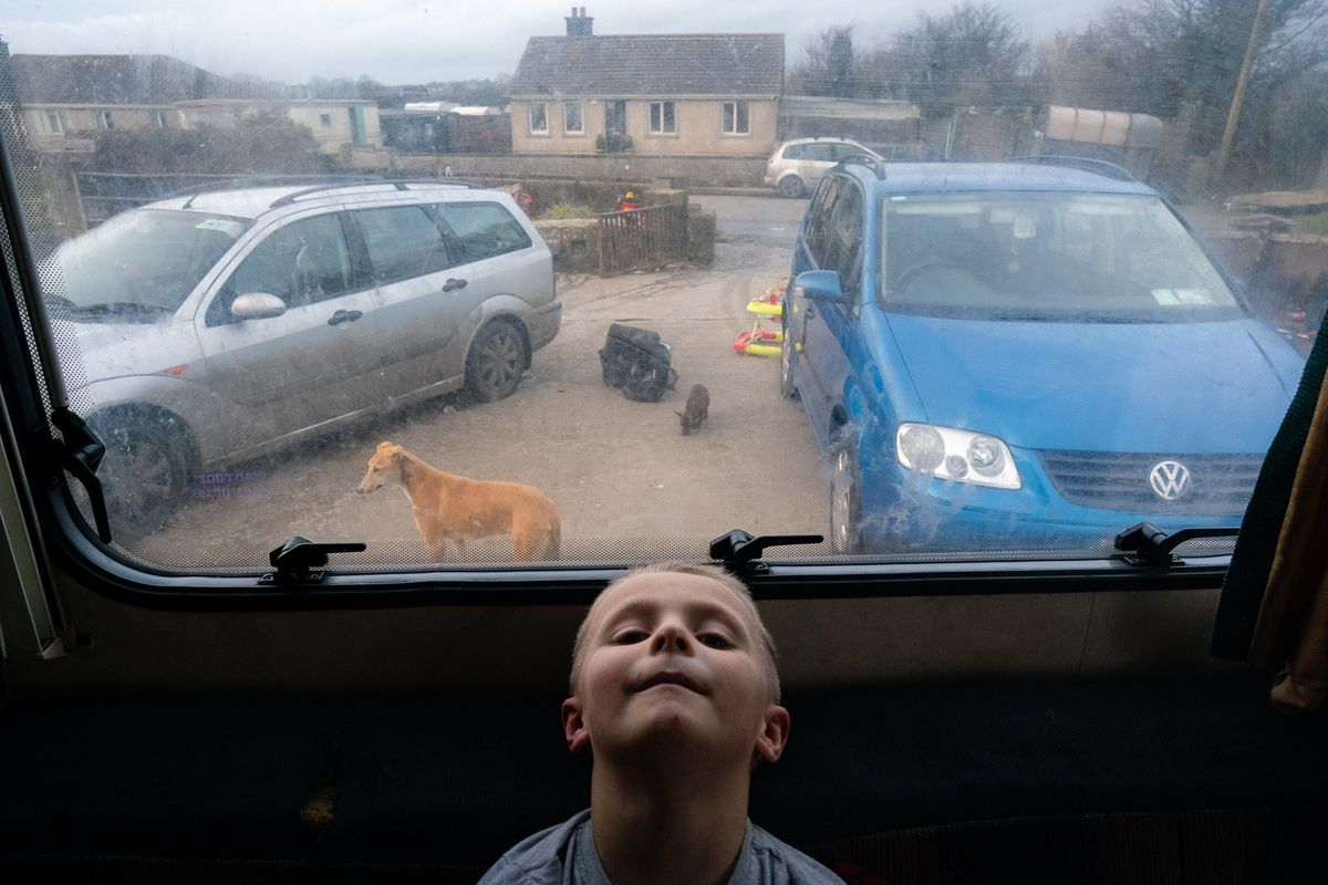 James' World - Irish Traveller Boy