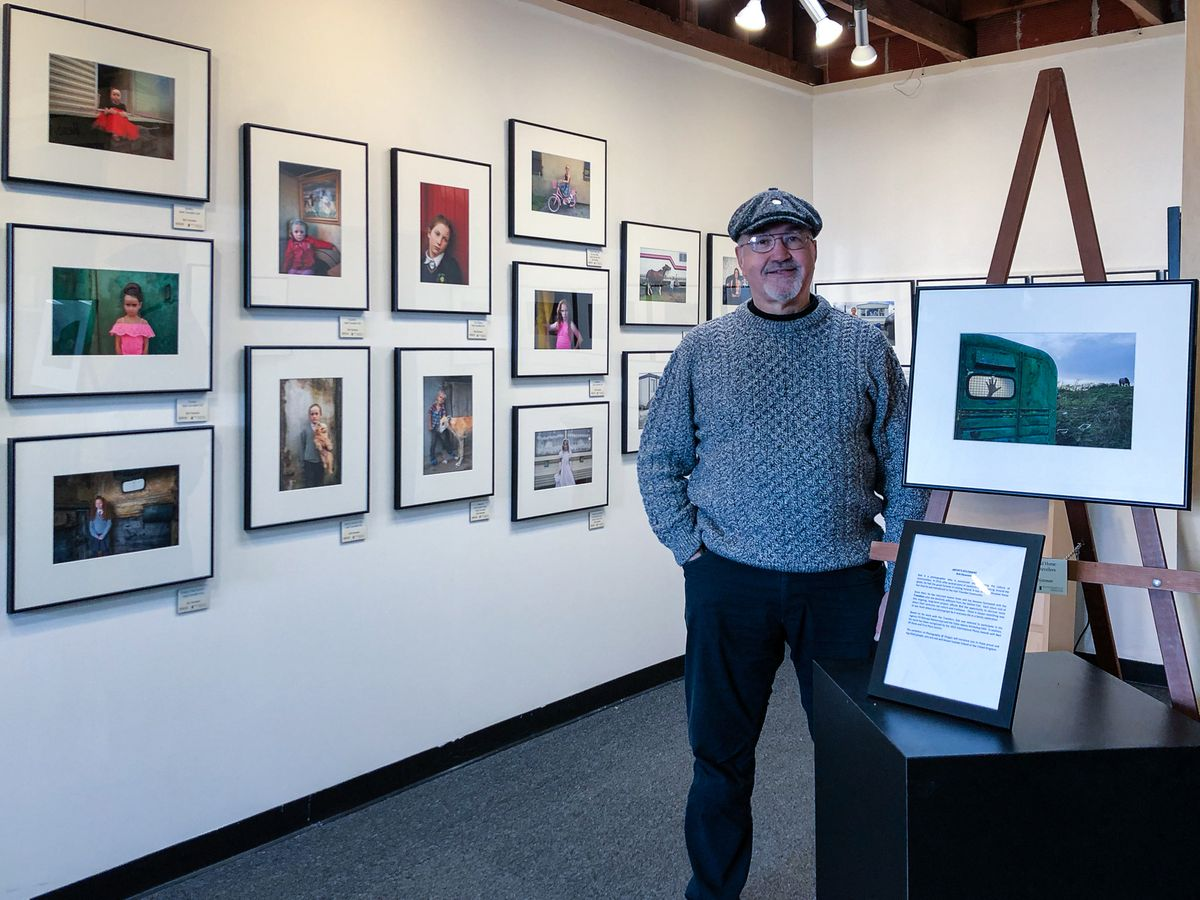 Photography At Oregon Gallery - Irish Traveller  Exhibition