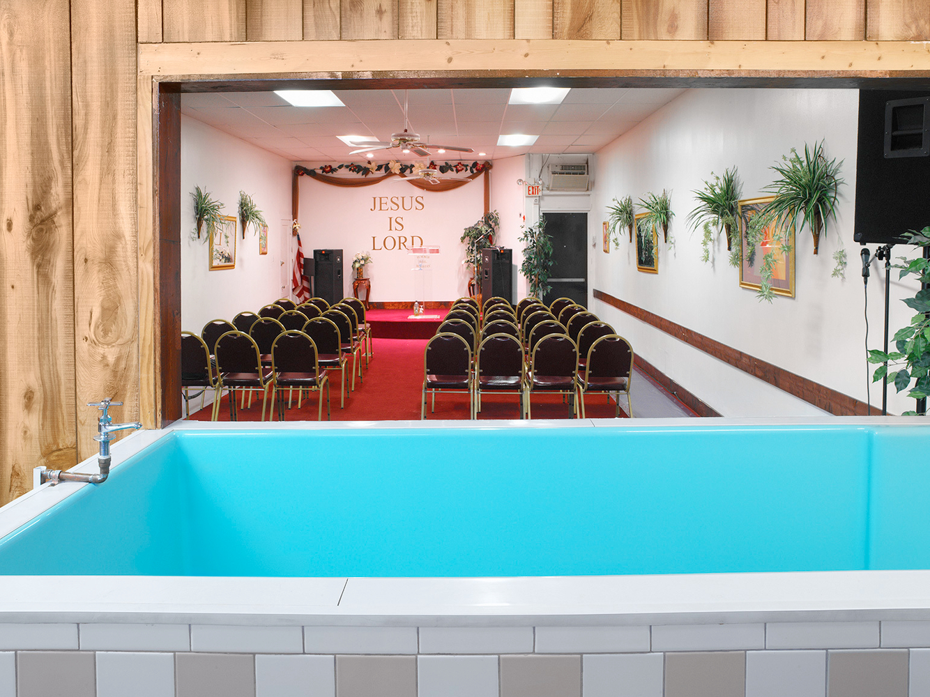 Baptismal Tub, Ruwach B.O.L. Ministries, Chicago 2004