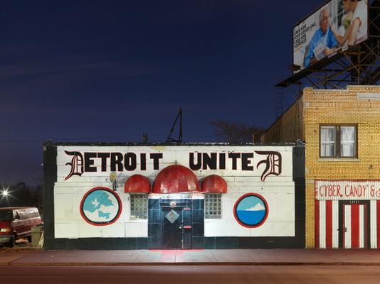 Community Building, Harper Avenue, Eastside, Detroit 2016