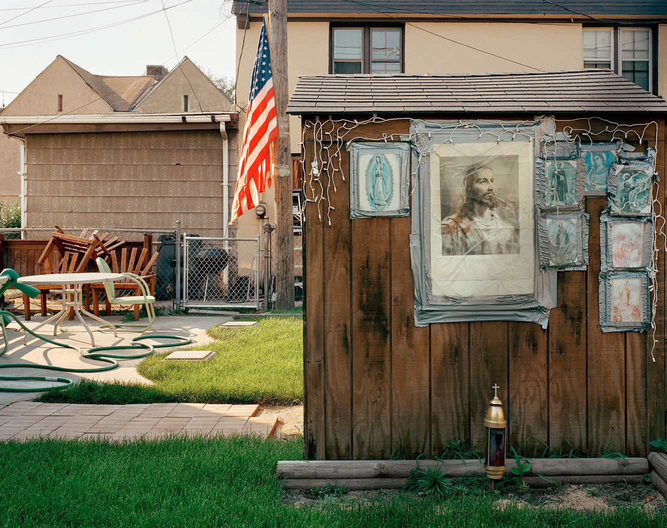 Jesus on Shed, Marktown, East Chicago IN 2003