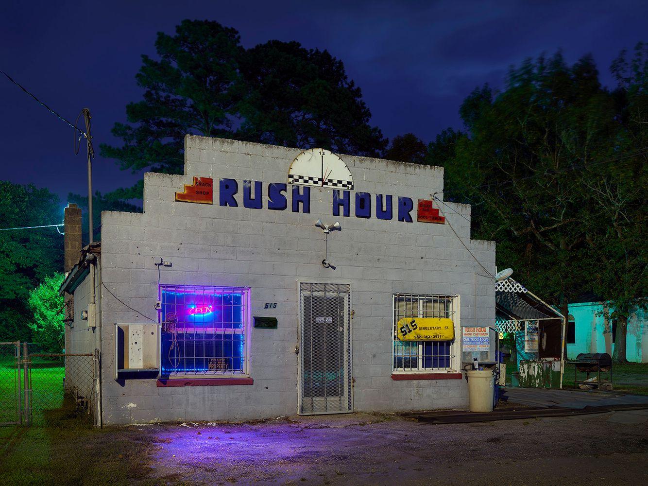 Rush Hour, Wilson, NC. 2018