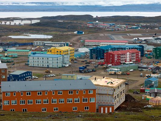 Construction Workers, Iqaluit, Canada 2016