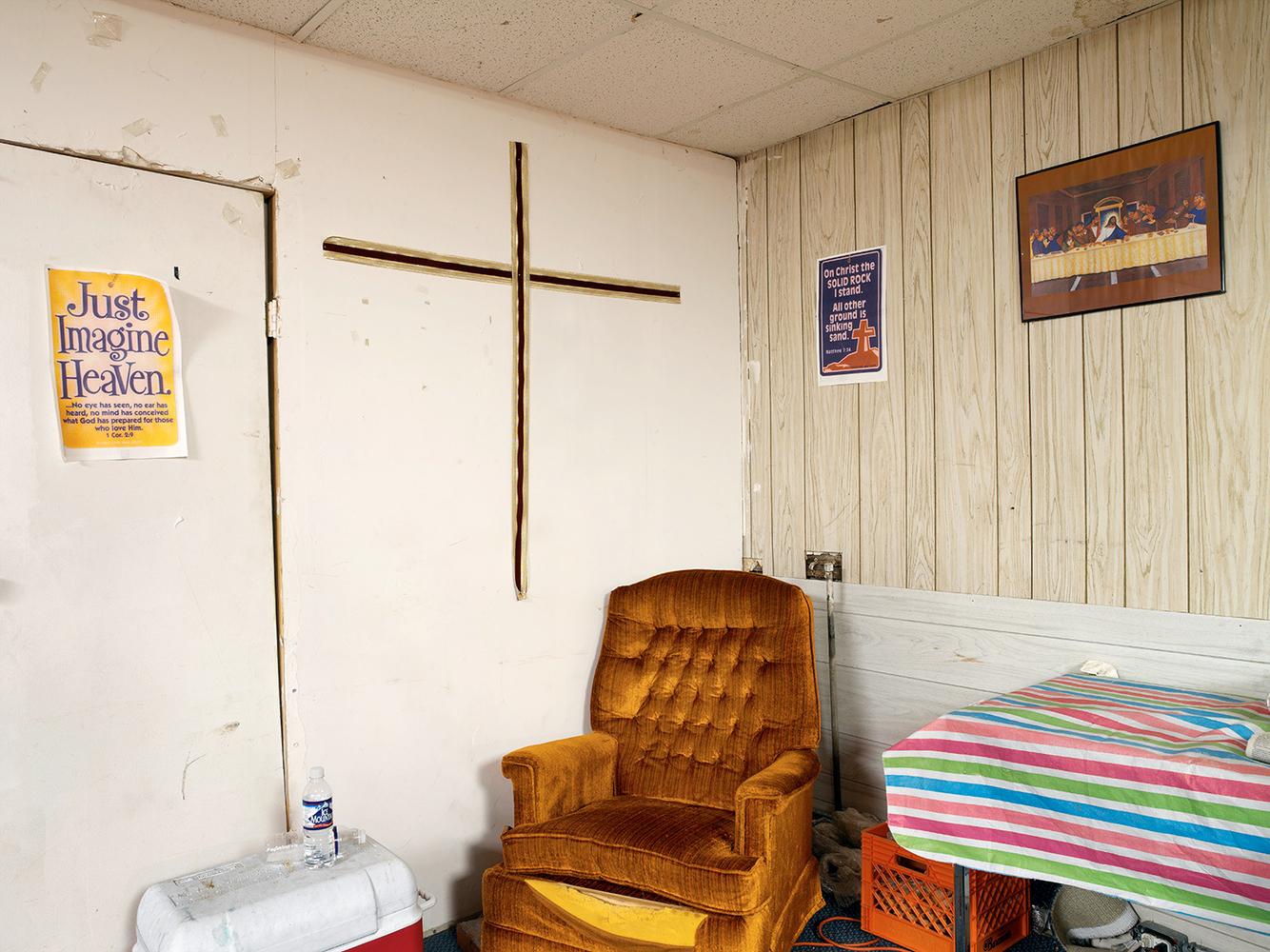 Corner Detail, First Church True Believers in Christ Healing Temple #1, Chicago 2006