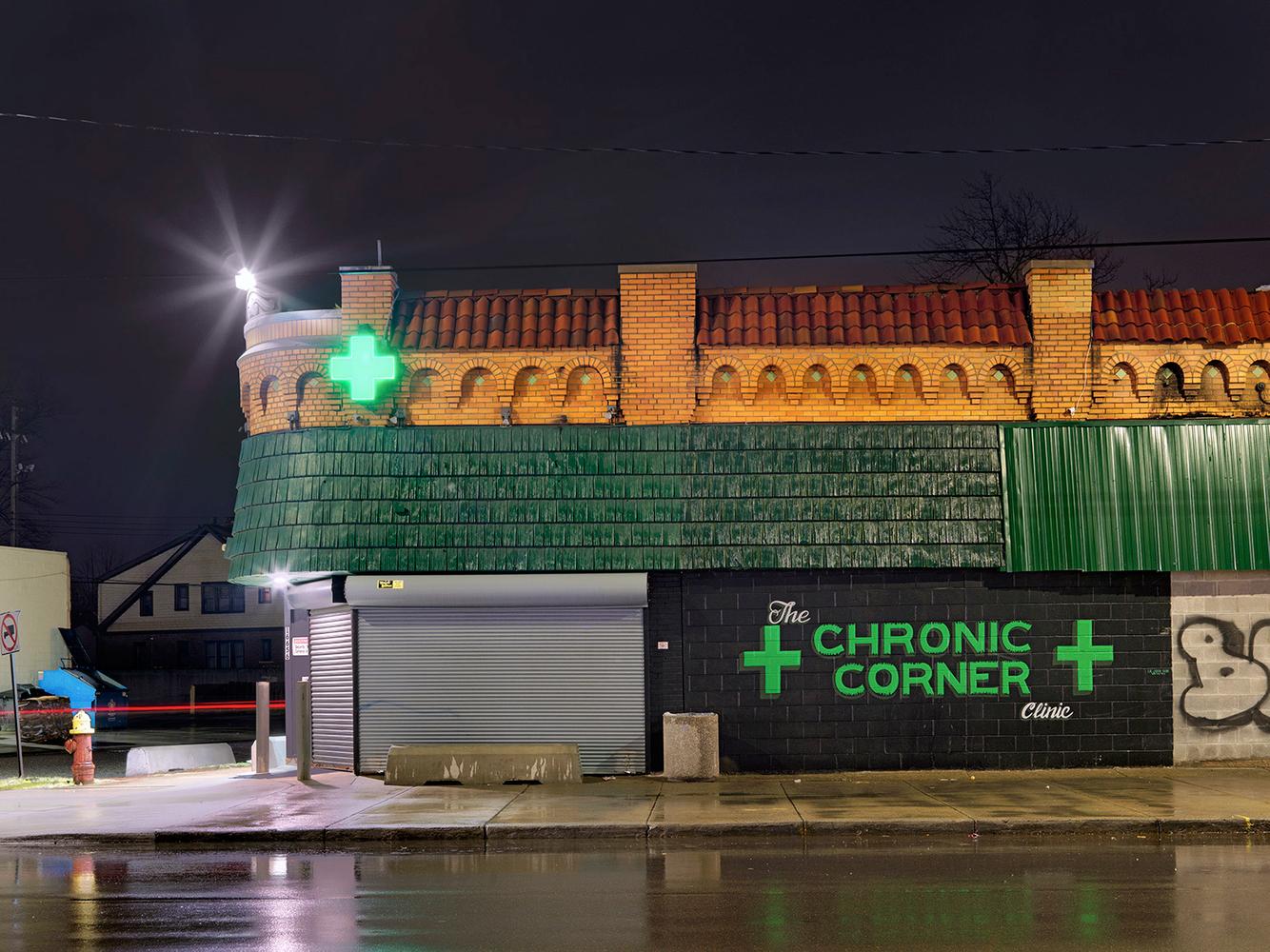 Medical Marijuana Dispensary #24, Eastside, Detroit 2016