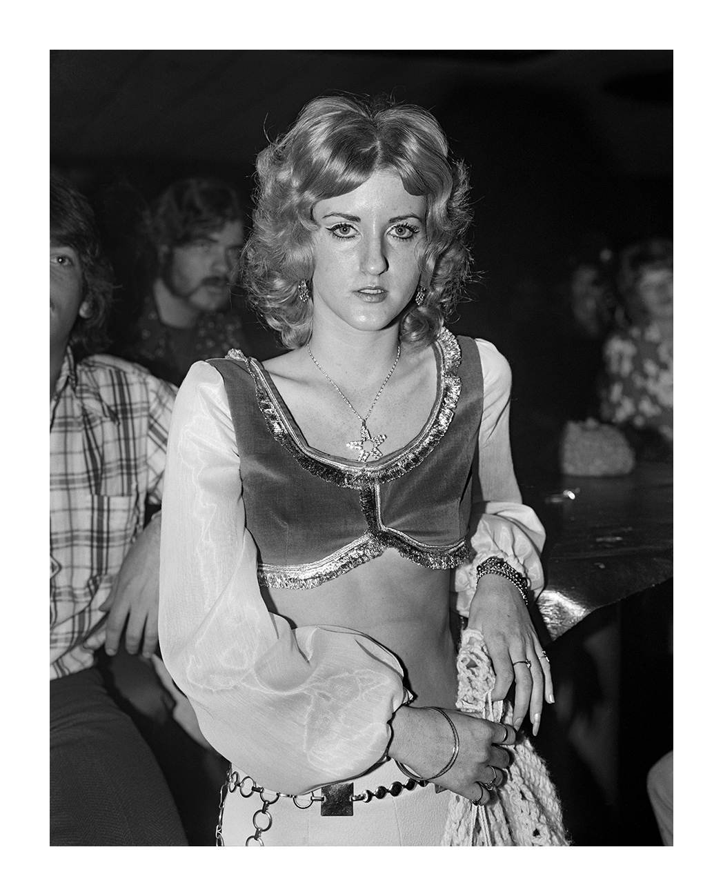 Girl in Costume at a Nightclub, Detroit 1973
