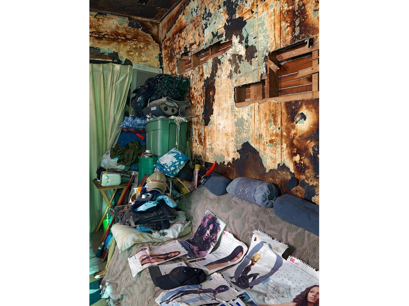 Living Room in Billy's House, Eastside, Detroit 2013