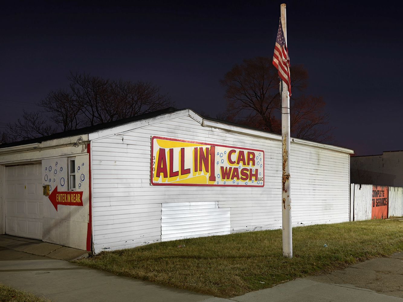 All in 1-Car Wash, Eastside, Detroit 2016