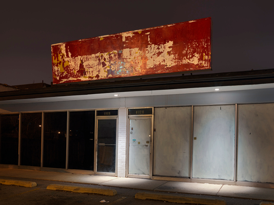 Empty Storefront, Rogers Park, Chicago 2018