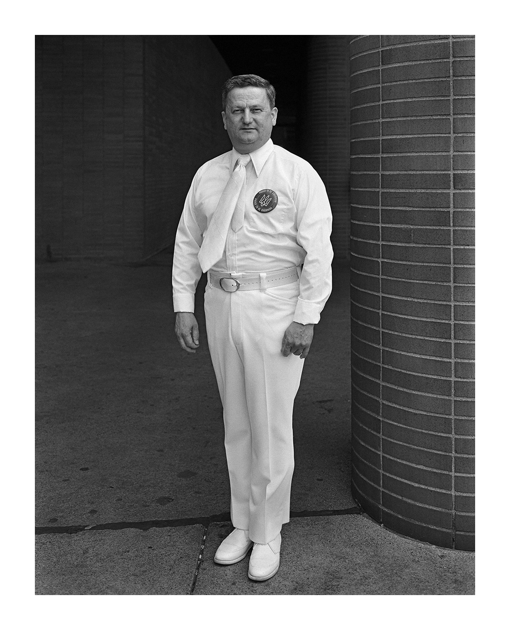 A Man All Dressed in White, Detroit, 5 Aug. 1973