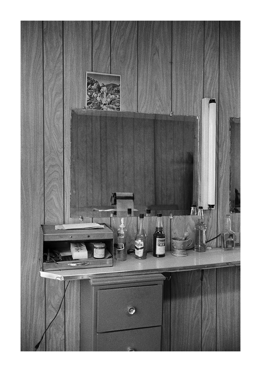 Interior View, Barbershop, Detroit 1972