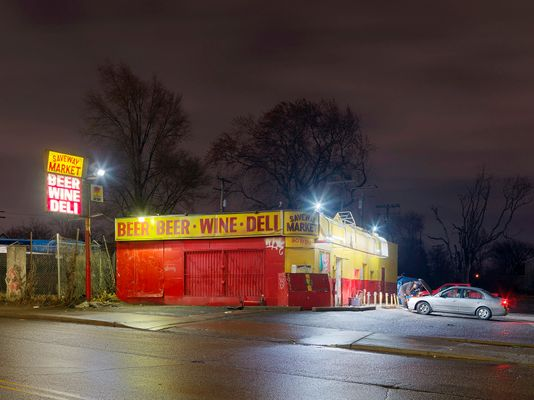 Saveway Market , Westside, Detroit 2018