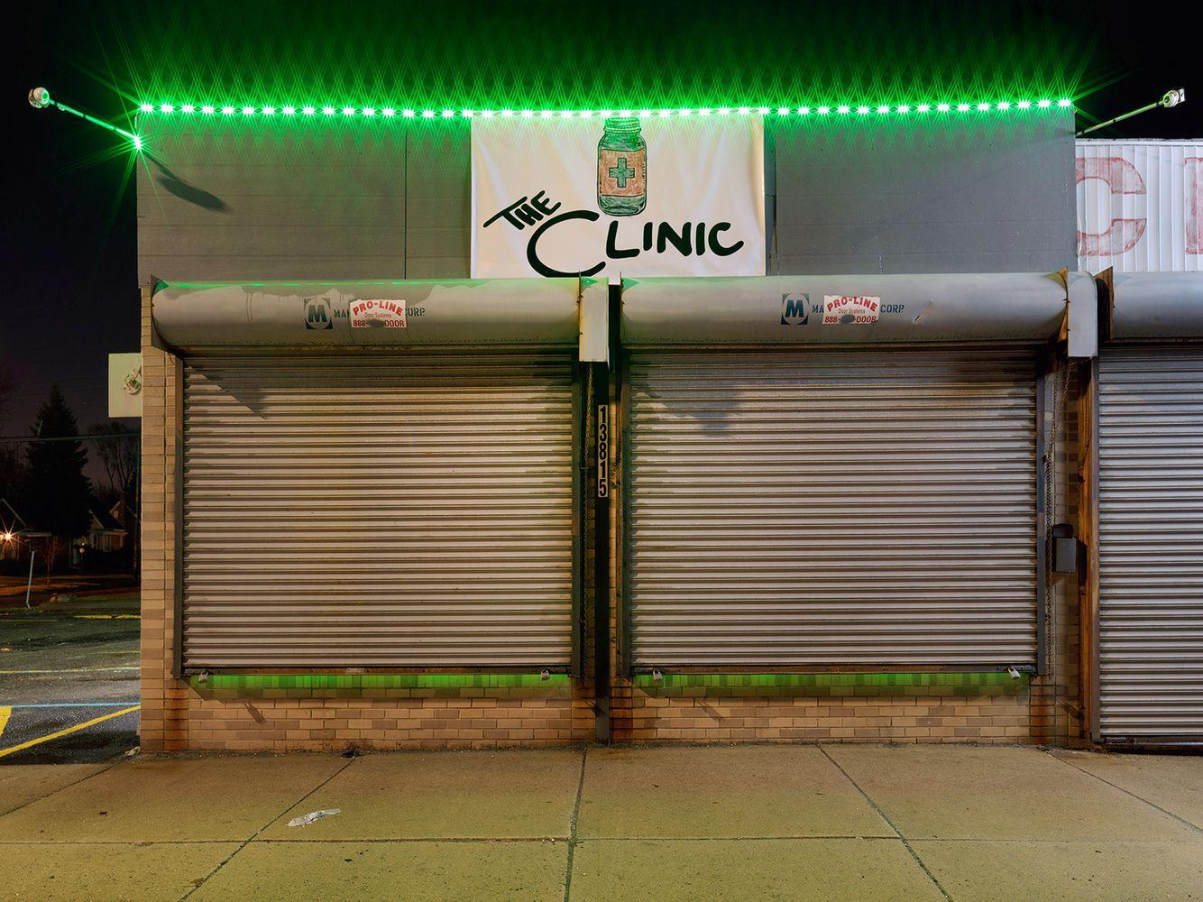 Medical Marijuana Dispensary #20, Westside, Detroit 2016