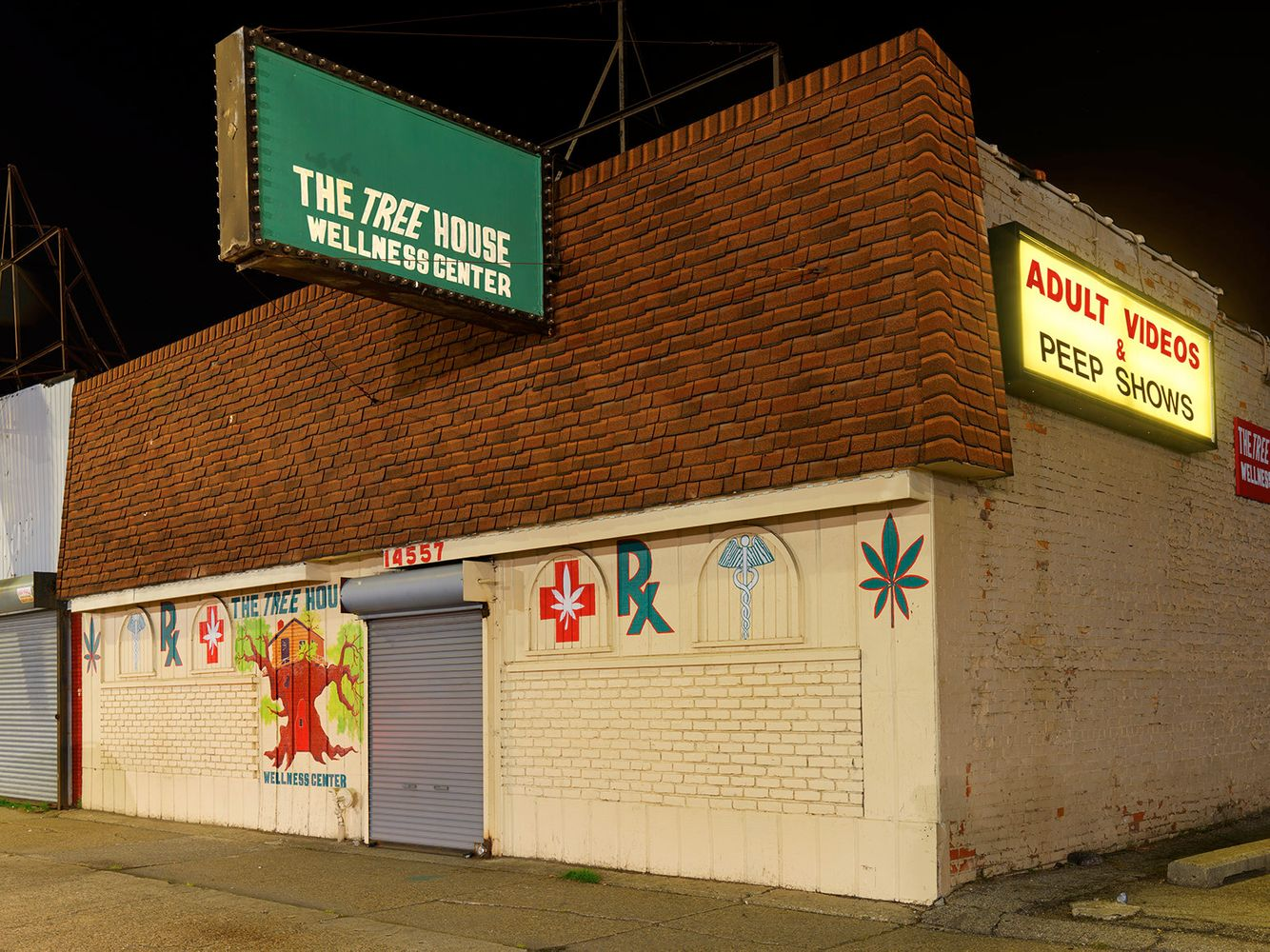Medical Marijuana Dispensary #22. Eastside, Detroit 2016