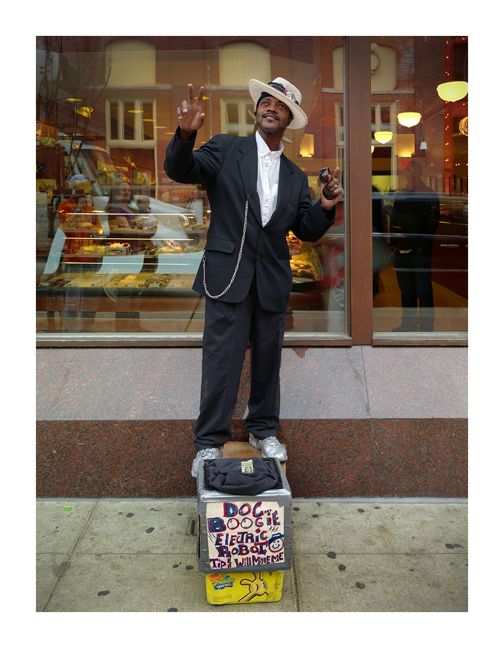"Henry, ""J.B. (James Brown)"" Johnson, Greektown, Detroit 2012"