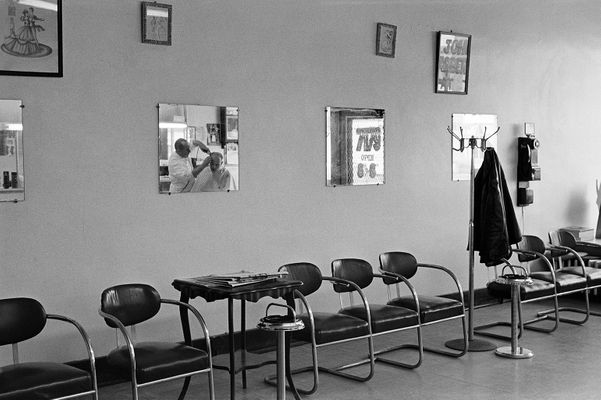 Detroit Barber Shops - 1972