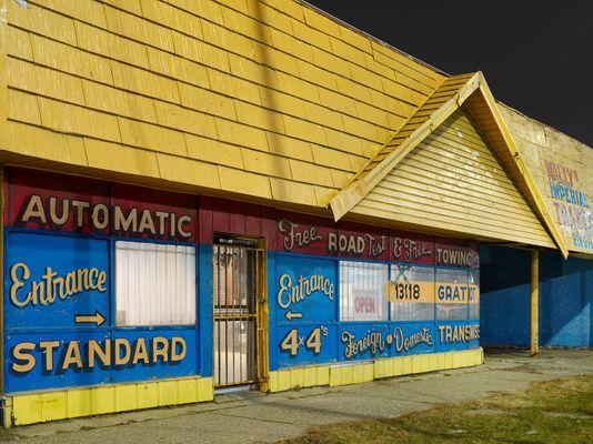 Transmission Shop, Eastside, Detroit 2018
