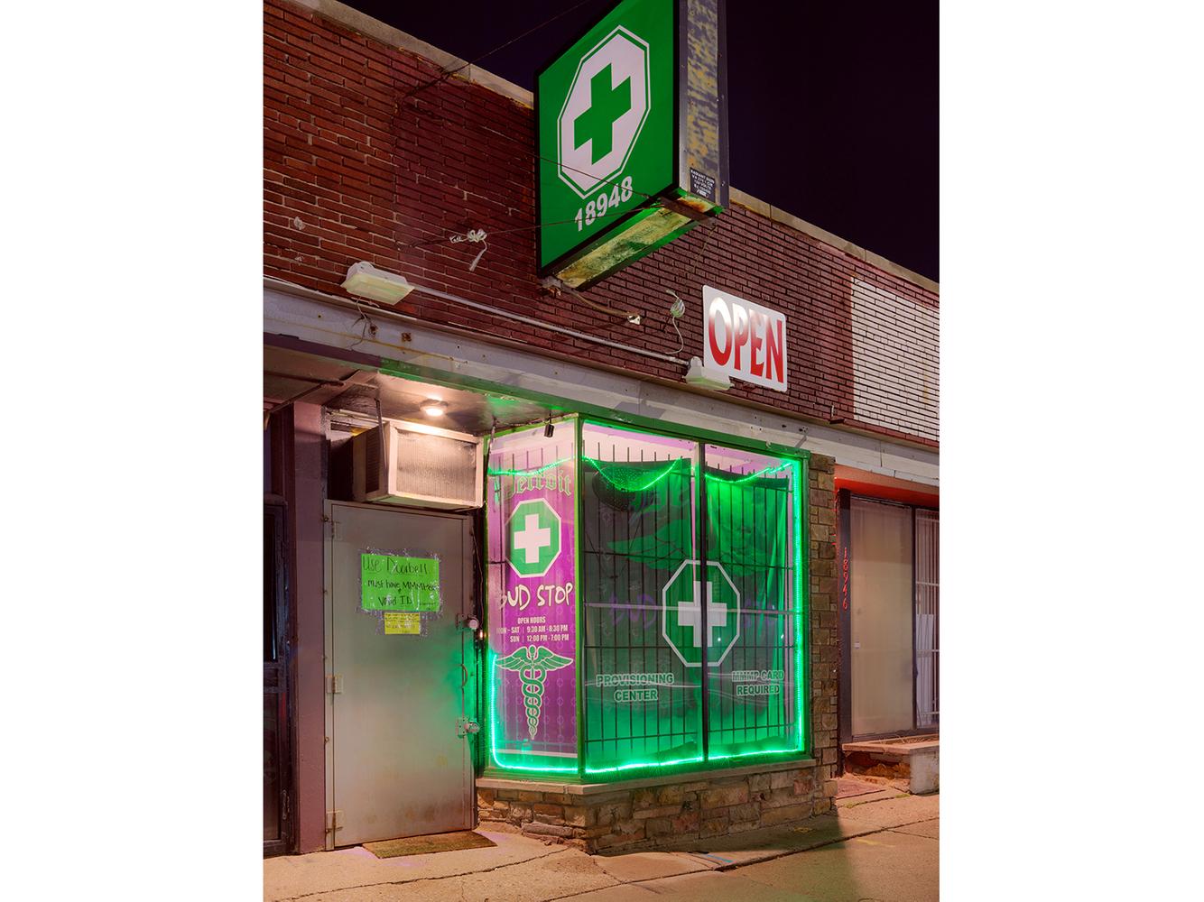 Medical Marijuana Dispensary 32, Westside, Detroit 2016
