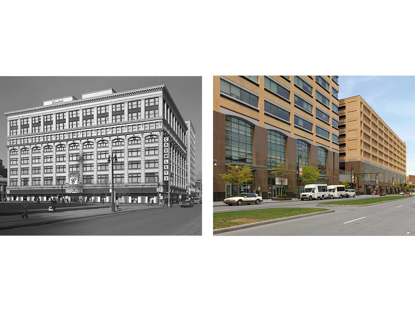 Crowley's Department Store, Farmer St., Detroit 1973-2010