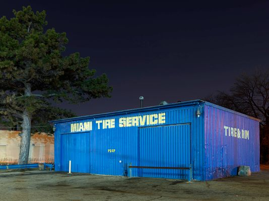 Miami Tire Service, Eastside, Detroit 2017
