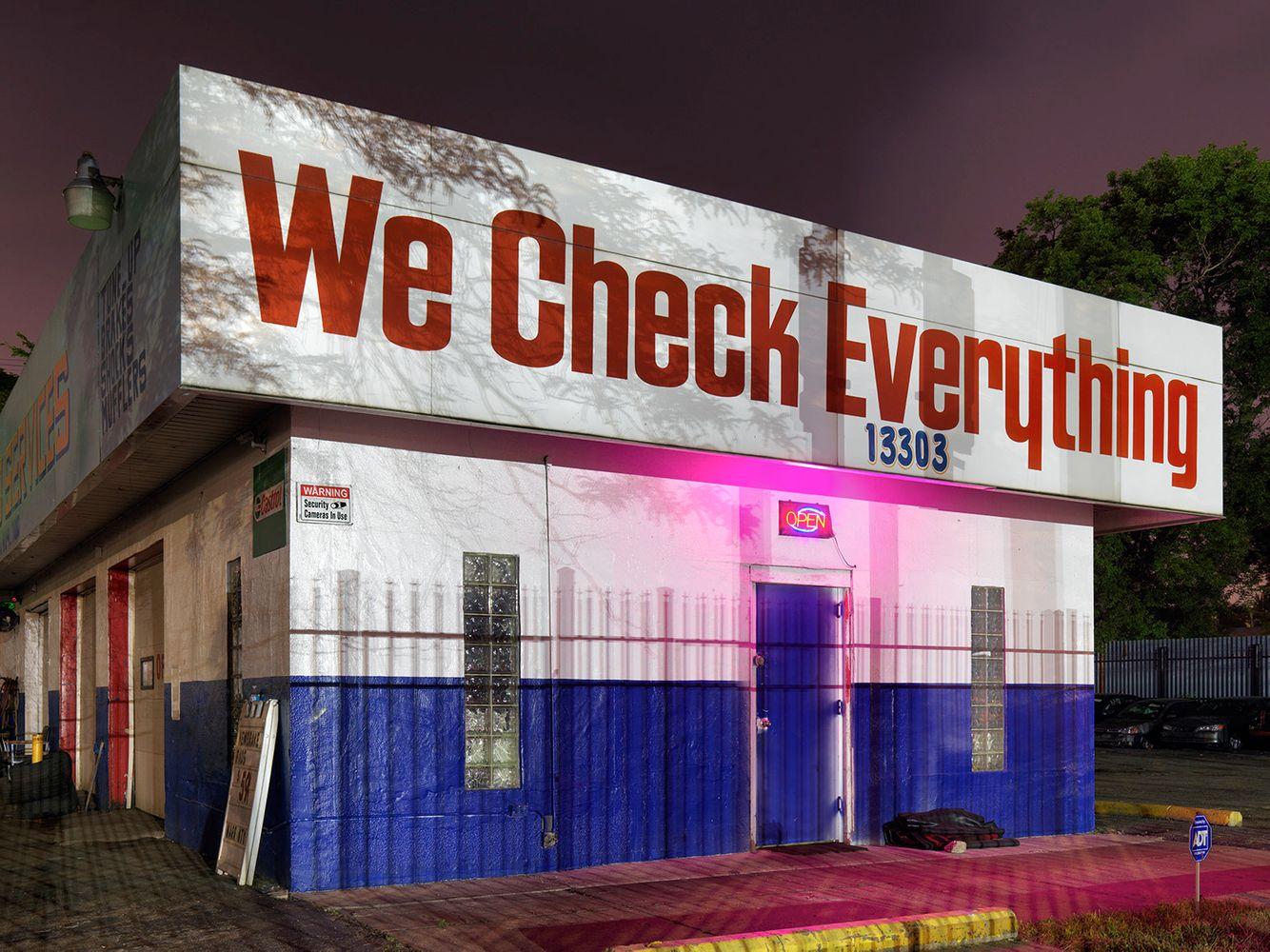 Auto Repair Shop, Westside, Detroit 2016