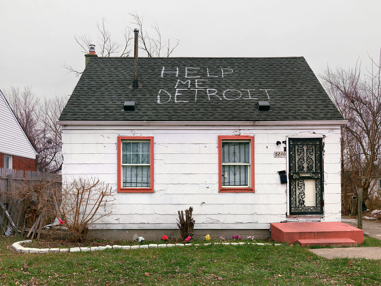 House, Eastside, Detroit 2014
