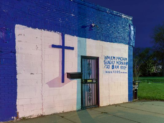 Church Broadcast Notice, Eastside, Detroit 2020