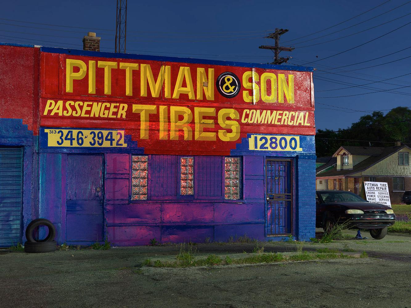 Tire Store, Linwood Street, Westside, Detroit 2016