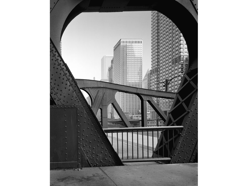 Detail, Clark St. Bridge, Chicago 2001